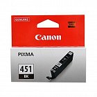 Картридж CANON CLI-451XLBK черный для Pixma iP7240/MG6340/MG5440