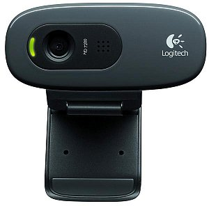 Веб-камера LOGITECH HD Webcam C270 960-000635 (1.3Mpx, 1280x720, микрофон) USB2.0