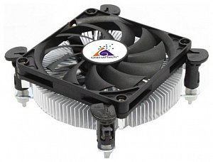 Кулер для процессора GLACIALTECH Igloo i620 Light Soc-1151/1156/1155 2600rpm 62W 25.8dBa Low Profile 29mm втулка ОЕМ