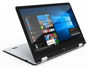 "Ноутбук DIGMA CITI E222, 11.6"", Atom X5 Z8350 4Gb, 32Gb SSD, HD Graphics 400, IPS, Windows 10 Home, серебристый"