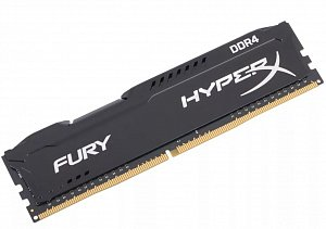 Модуль памяти DDR4 4Gb KINGSTON HyperX FURY HX426C15FB/4 (PC4-21300, 2600MHz, CL15)