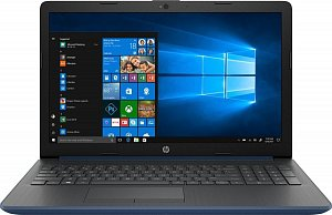 "Ноутбук HP 15-db0087ur Ryzen 3 2200U/8Gb/1Tb/530 2Gb/15.6""/SVA/HD/W10/blue (4ju90ea)"