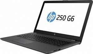 "Ноутбук HP 250 G6, 15.6"", i3 7020U, 8Gb, 256Gb SSD, HD Graphics 620, DOS, 4LT15EA, темно-с"