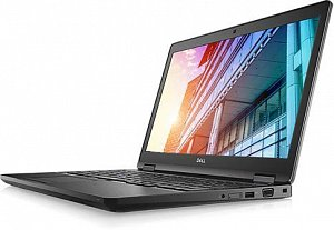 "Ноутбук DELL Latitude 5591, 15.6"", i5 8300H, 8Gb, 1Tb, 256Gb SSD, UHD Graphics 630, Linux, 5591-6"