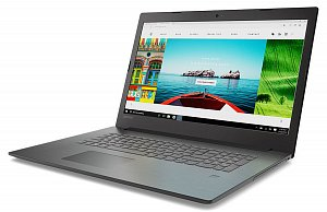 "Ноутбук LENOVO IdeaPad 330-17AST A4 9125/4Gb/500Gb/R3/17.3""/HD+/W10/black (81d7001kru)"